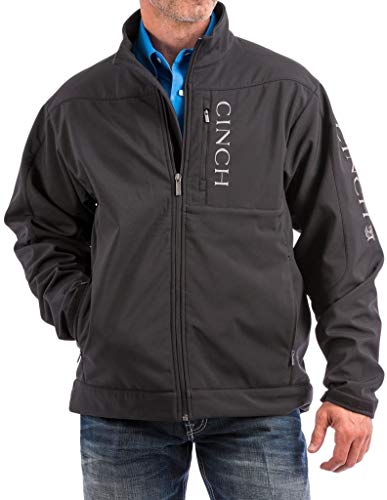 Cinch Men's Concealed Carry Bonded Jacket Black X-Large