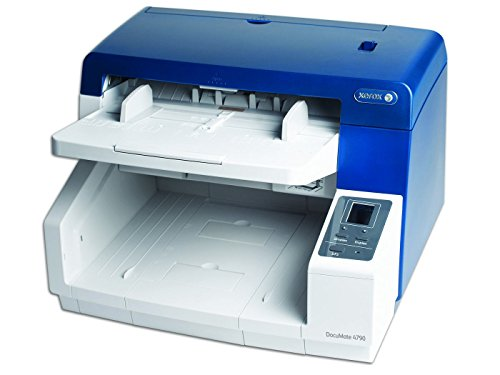 Great Deal! Xerox DocuMate 4790 (XDM47905D-WU) A3-sized Adf Document Scaner with Detection,White