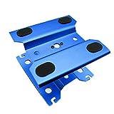 Kingsea RC - Supporto da lavoro in metallo per 1/8 1/10 1/12, scala 1/12 RC cingolati, Buggies Trx4 Redcat Axial scx10 90046 D90 Tamiya HSP HPI con rotazione a 360 gradi o inferiore (blu scuro)