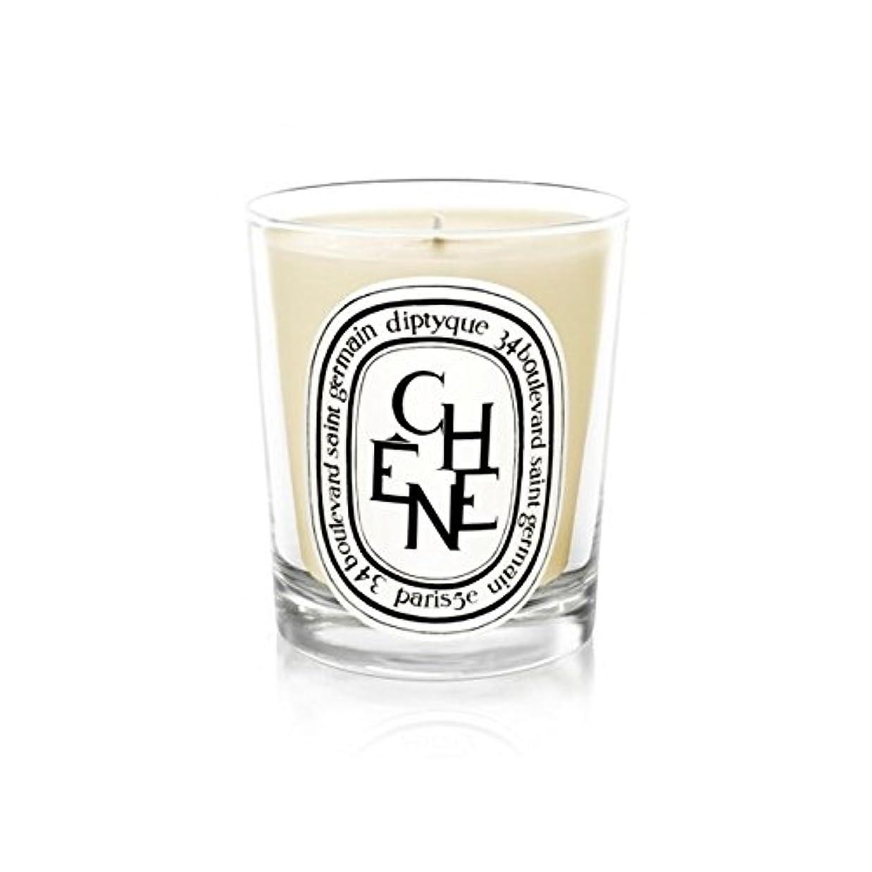 許可ドアミラーエスカレートDiptyque Candle Ch??ne / Oak Tree 190g (Pack of 6) - DiptyqueキャンドルCh??Ne/樫の木の190グラム (x6) [並行輸入品]
