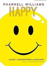 Pharrell williams: happy - ssatb chant