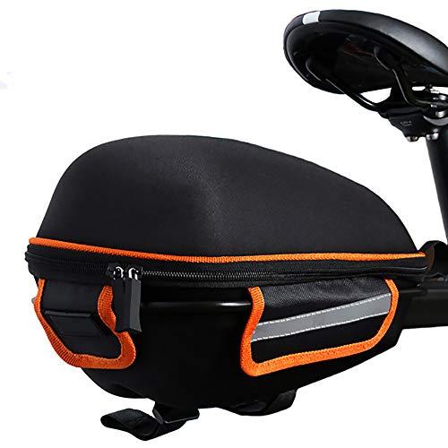 Read About Bocotous Bicycle Saddle Bag Rainproof Bike Rear Bag Reflective MTB Tail Bag Bike Accessor...