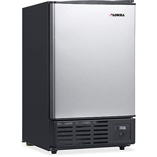 Lorell LLR73210 Stainless Steel Ice Maker/Refrigerators, 19 L