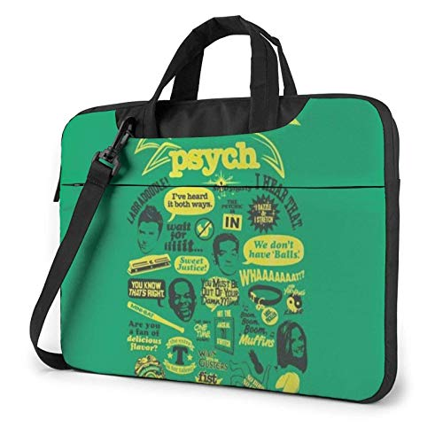 Laptop Bag Psych Pineapple Quote Laptop Shoulder Bag Messenger Briefcase Laptop Case Sleeve
