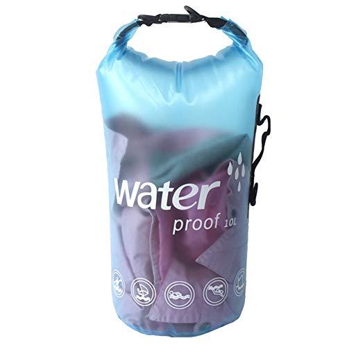 Icegrey Bolsa Estanca Playa Bolsa Seca Impermeable Dry Bag Amarillo 10L