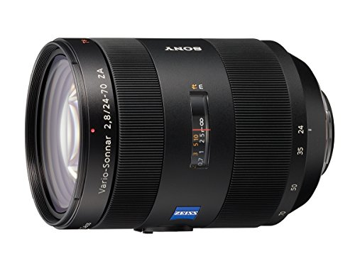 Sony 24 -70mm f/2.8 Carl Zeiss Vario Sonnar T Zoom Lens for Sony Alpha Digital SLR Cameras