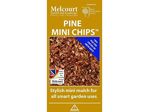 Melcourt Pine Mini Chips Bark Decorative 60L Bag