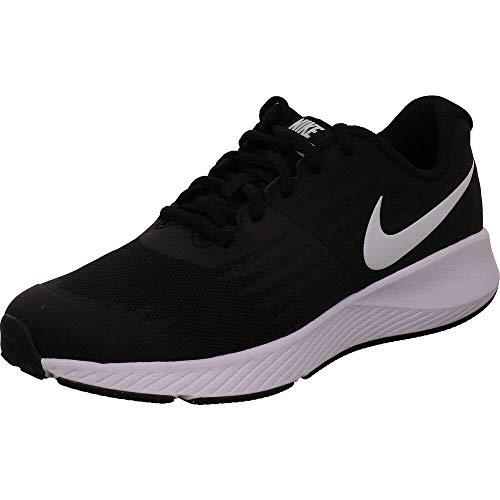 Nike Damen Star Runner (gs) Laufschuhe, Schwarz Black White Volt 004, 37.5 EU