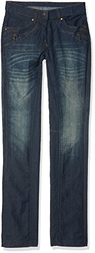 HKM - Pantaloni Classici da Bambino, Unisex - Adulto, Pantaloni, HKM 4000315727759, Blu Jeans, 34