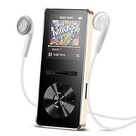 【12/13まで】AGPTEK Bluetooth対応デジタルオーディオプレーヤー A29TG 1,275円送料無料!