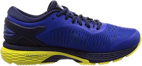 Asics Gel-Kayano 25, Zapatillas de Running para Hombre, Azul Blue/Lemon Spark 401, 42 EU
