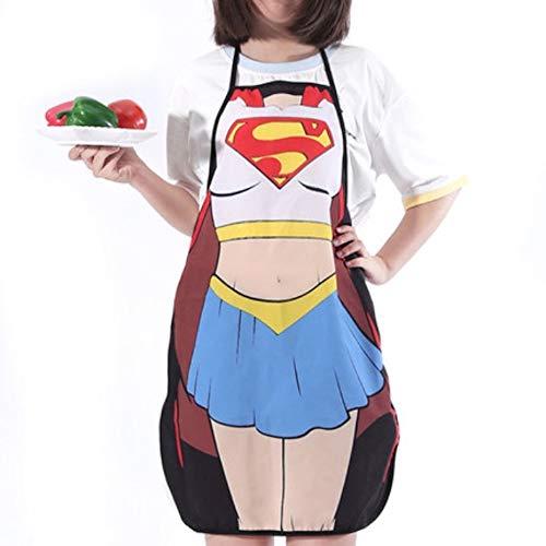 ShopINess Superwoman Tablier de cuisine