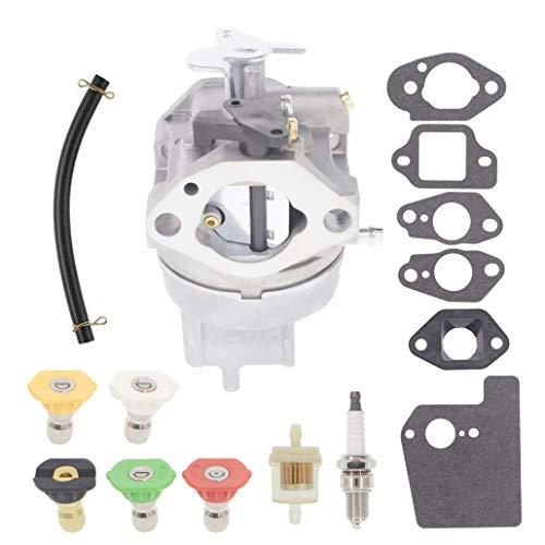 Chacarbtu 16100-Z1A-802 Carburetor for Honda 16100-Z0J-013 GC160 GC190 Pressure Washer Carburetor with Pressure Washer Nozzle Kit