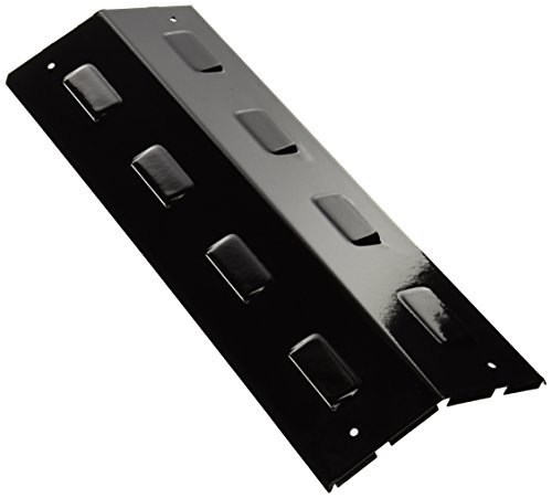 Music City Metals 96301 Porcelain Steel Heat Plate Replacement for Select Gas Grill Models by Aussie, Charbroil and Others