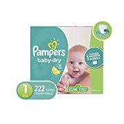 Pampers Diapers Size 1 (Old)