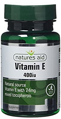 Natures Aid Aid 400iu Vitamin E - Pack of 60 Capsules by NAVX2