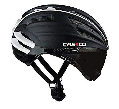 Casco Erwachsene Helm Speedairo Schwarz, L(59-64 cm)