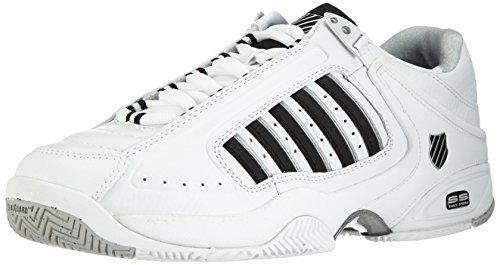 K-Swiss Defier RS~White/Black~M, Zapatillas de Tenis Hombre, Blanco, 41.5