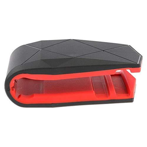 ZQEDY Kfz-Handyhalterung, rutschfest, praktisches Auto-Zubehör, Krokodil-Mundform, universell Einstellbarer Winkel, sicheres Fahren, GPS-Halterung, Legierung (rot), Nicht Null, rot