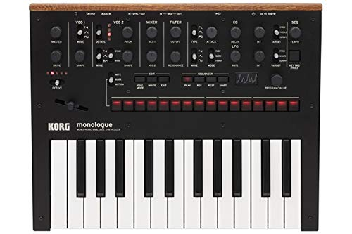 Cheap Korg Synthesizer, 25 Key (MONOLOGUEBK)