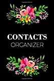 Contact Organizer: Address Book For Keeping Record Of Contacts Addresses Business Information And More