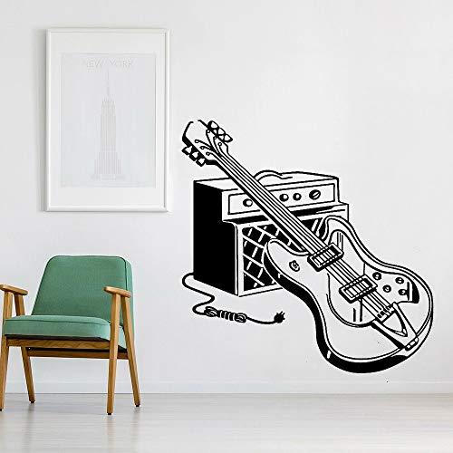 HGFDHG Pegatinas de Pared de Guitarra eléctrica decoración