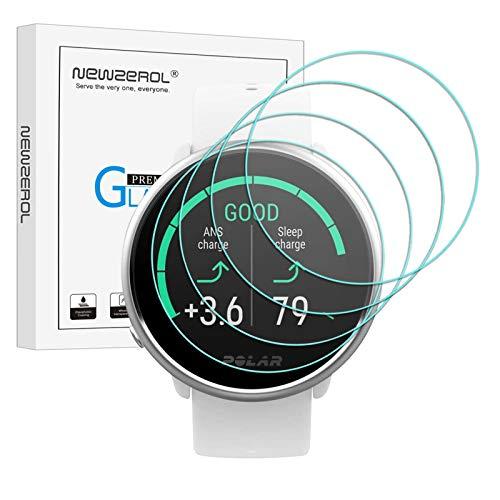 NEWZEROL 4 Piezas Compatible con Película Protectora Polar Unisex Ignite en Vidrio Antibalas, Película Protectora de Pantalla de Vidrio Templado de Alta Resolución - Transparente