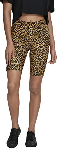 Urban Classics Damen Ladies Cycle Pattern Shorts, Leo, S