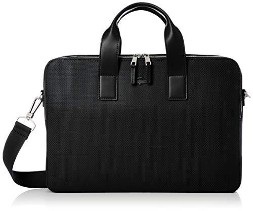 Lacoste Herren NH2921 Computer-Tasche, Noir, Einheitsgröße