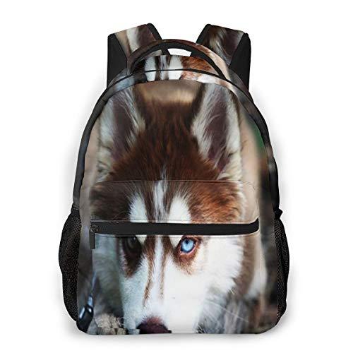 Rucksack Männer Und Damen, Laptop Rucksäcke für 14 Zoll Notebook, Verärgerter heiserer Hund Kinderrucksack Schulrucksack Daypack für Herren Frauen