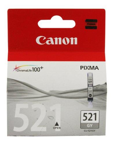 Canon CLI-521 GY original Tintenpatrone  Grau für Pixma Inkjet Drucker MP980-MP990