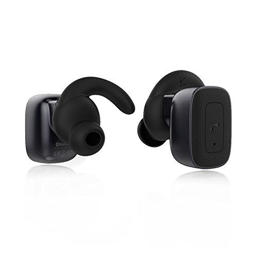 Confortevoli Cuffie Bluetooth per Ascoltare Musica,Effettuare Chiamate,Adattabili per Qualsiasi Dispositivo,Confortevoli per Le Orecchie-Milool (Q)
