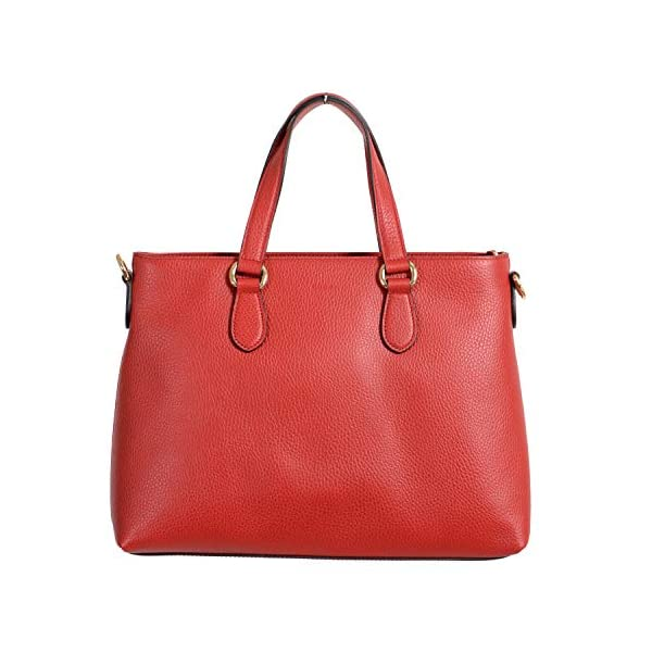 Fashion Shopping Gucci 100% Leather Red Women's Handbag Shoulder Bag