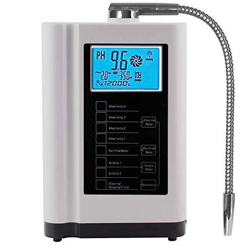 aQuasafe Home Water Ionizer pH 3.5 to 10.5 Alkaline Water Machine