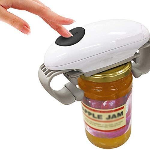 Boom One Touch Automatique Ouvre Jar, Multi-Usages Débrayables De Sécurité sans Fil Facile Peut Tin Openideal Outil, pour Les Personnes Âgées De Cuisine Et Les Personnes Souffrant De L'arthrite