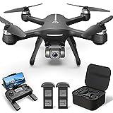 Holy Stone HS700E GPS Drohne mit 4K UHD Kamera EIS Bildstabilisator 130° FOV,RC Quadcopter mit Bürstenlosem Motor, 46 Min. lange Flugzeit,5G FPV Übertragung,Follow Me, Rückkehr für Anfänger Erwachsene