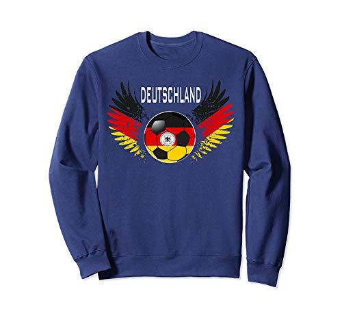 Situen Germany Deutschland Football Fans Jersey Sweatshirt Tshirt - Sweatshirt for Men and Women