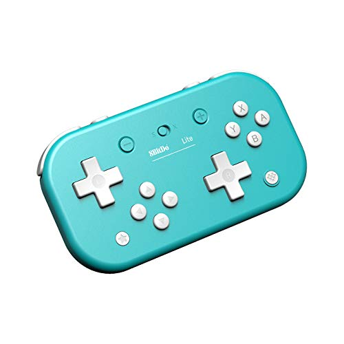 8Bitdo - Mando Wireless Switch Lite Azul Nintendo