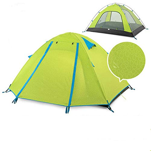 YAOHONG Outdoor tents, 2 people camping thickening rain and sun beach seaside camping equipment Travel tent (Color : C)