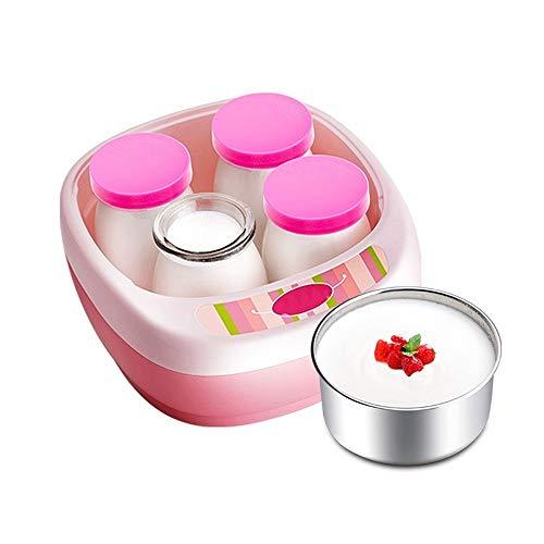 Great Price! ZSQAI Yogurt machine, home automatic homemade mini, stainless steel yogurt cup, constan...