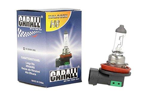 Lámpara halógena coche h812V 35W PGJ19–1transparente marca Carall