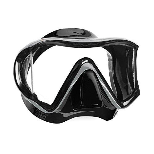 Mares I3 Dreiglas Tauchmaske (Farbe: Schwarz), 0792460251138