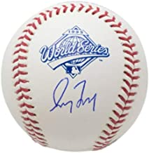 Greg Maddux Atlanta Braves Autographed Signed MLB 1995 World Series Baseball JSA