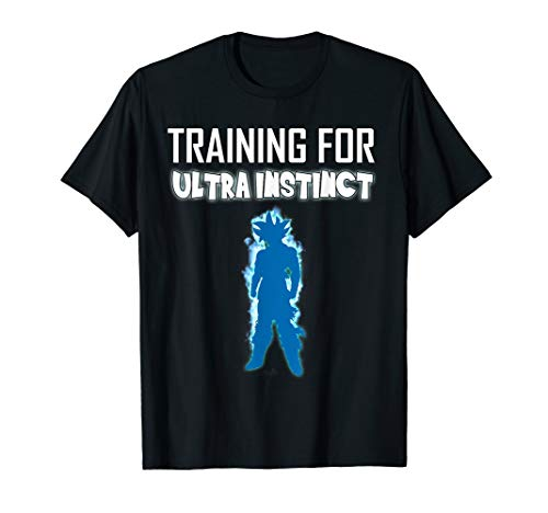 Ultra Instinct, Training, Gym, Workout, Anime - T Shirt