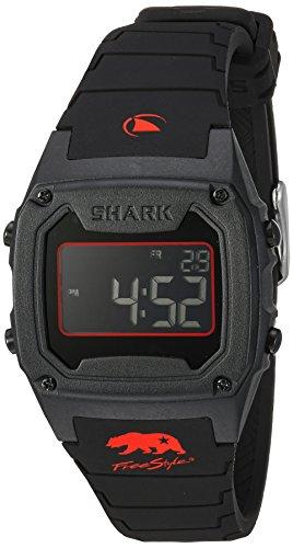 Freestyle Unisex 10027426tiburón Pantalla Digital Negro Reloj de Cuarzo japonés