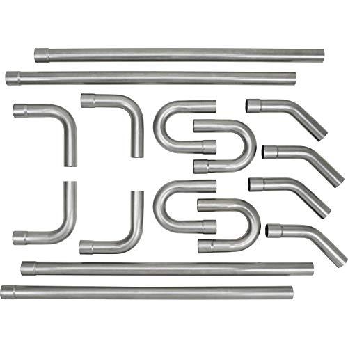 "Universal 3"" Custom Exhaust Tubing Mandrel Bend Pipe Straight & U-Bend Kit"