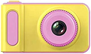 Redcolourful 2 Inch 2MP 1080p Mini Cam Digital Camera for Kids Baby Cute Cartoon Multifunction Toy Camera Pink Products