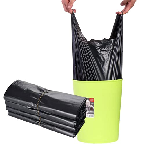 YRWL bolsa de basura negro bolsa de basura biodegradable e inodoro bolsa de basura puede manejar heces de mascotas compostaje bolsa de basura dormitorio cocina bolsa de basura