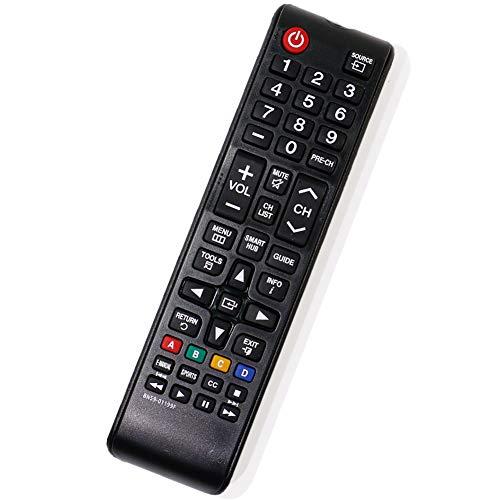 PERFASCIN BN59-01199F Reemplazo Remoto Compatible con Samsung TV UN32J4500AF UN32J5205AF UN32J525DAF UN32J525DAF UN40J5200AF UN32J525DAFXZA UN40J520DAF UN40J520DAF UN40J6200AF...