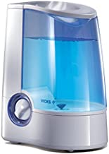 Vicks Warm Mist Humidifier, Small to Medium Rooms, 1 Gallon Tank - Vaporizerand Warm Mist Humidifier for Baby and Kids Rooms, Bedrooms and More